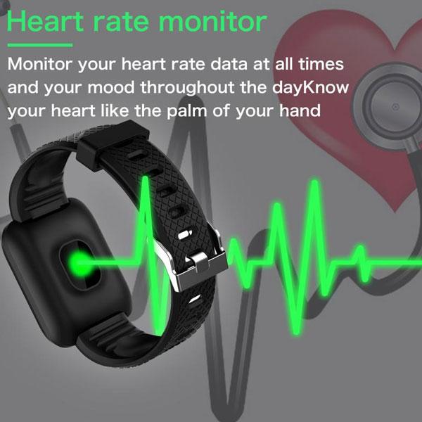 دستبند سلامتی bracelet 116 PLUS